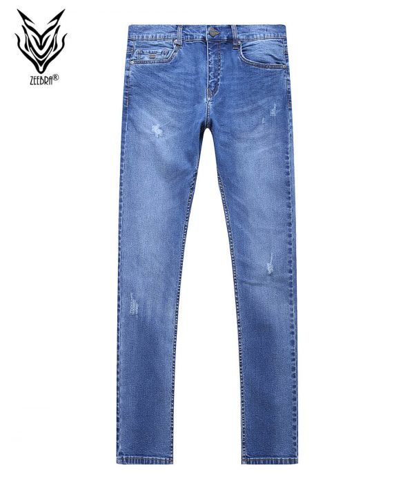 Denim Pant Men Mid Blue