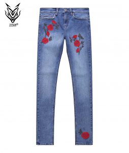 denim jeans Ladies Floral