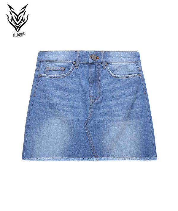 Denim Jeans Ladies Skirt