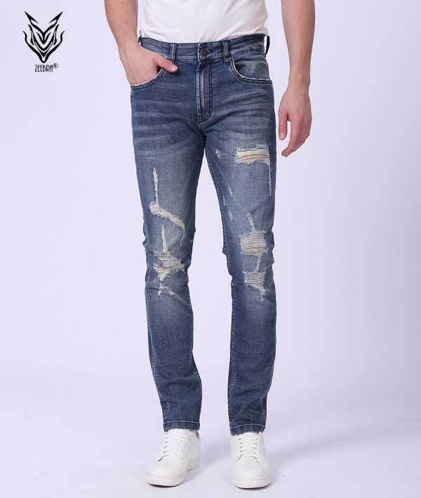 Denim Pant Men Damage